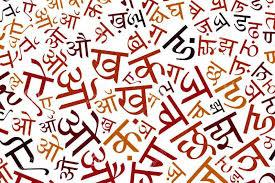 Image result for hindi language